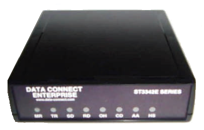 how to connect distributel modem